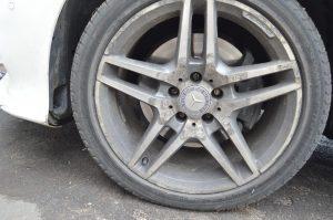 Порошковая покраска диска #R18 #Mercedes AMG в #графит под суперматовым лаком.
