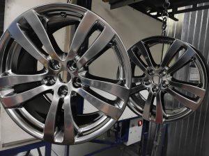 Порошковая покраска дисков для Jaguar