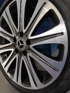 Алмазная проточка дисков R18 от Mercedes