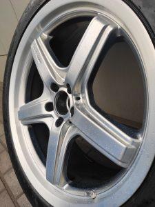 алмазной проточкой полки на оригинальных R21 от Mercedes AMG